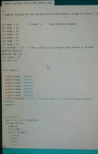 Large Score Board & Arduino Code.