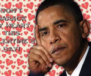 Presidential Valentine's Cards