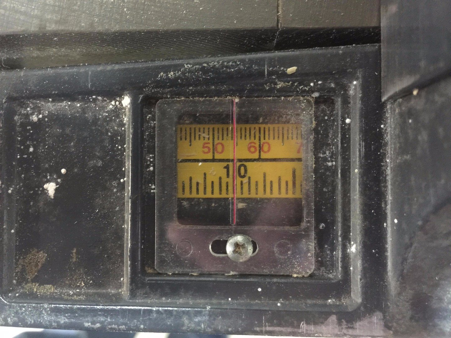Picture of Adjust Your Rip Scale Indicator