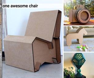 Creative Cardboard Projects