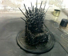 Iron Throne Phone Stand | Game of Thrones Inspired