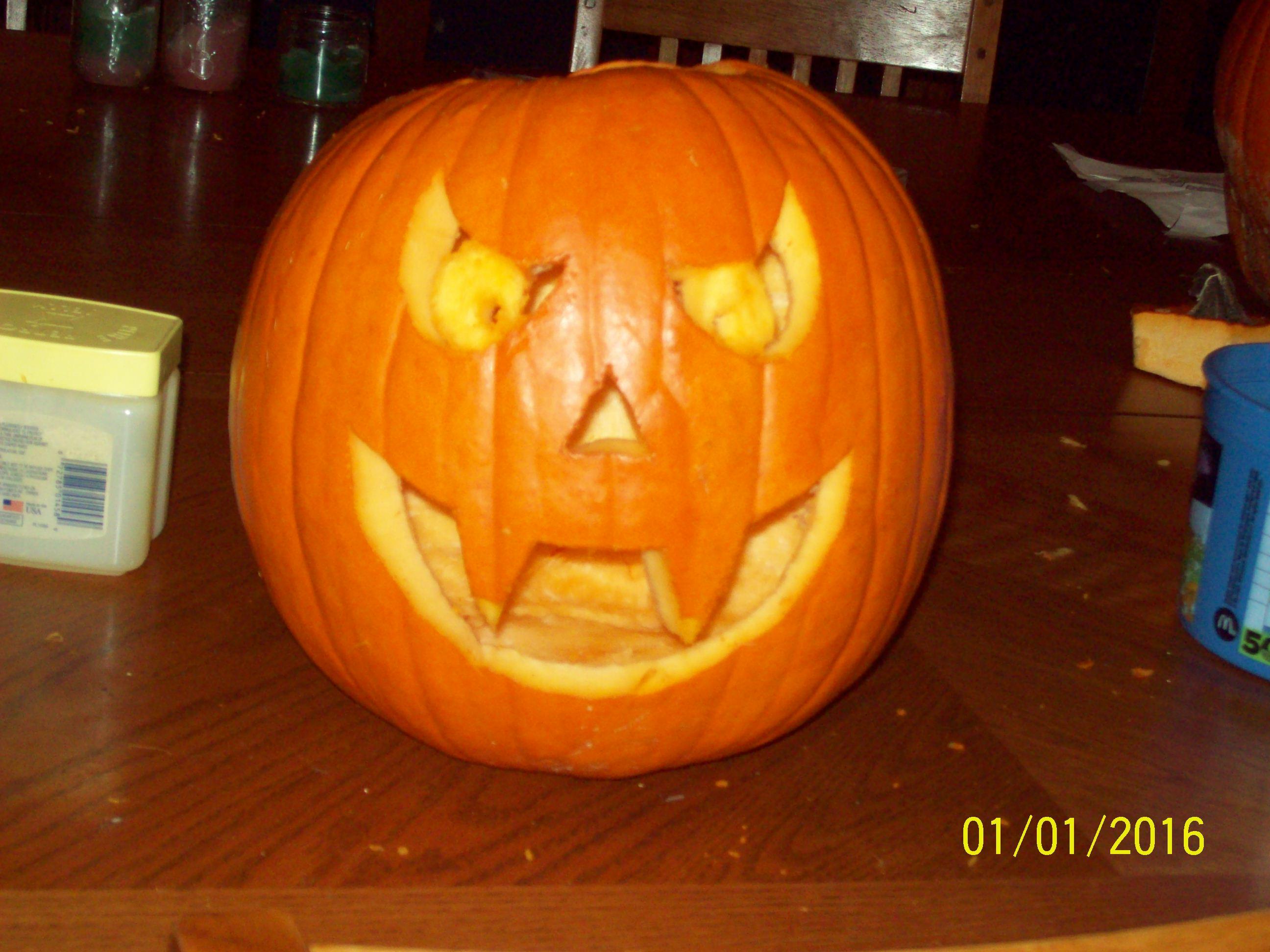 Picture of Vampire Pumpkin