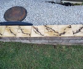Lichtenberg Wood Burning Tests