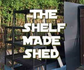 Shelf Made Shed