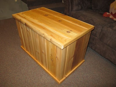 Wood Box (optional)