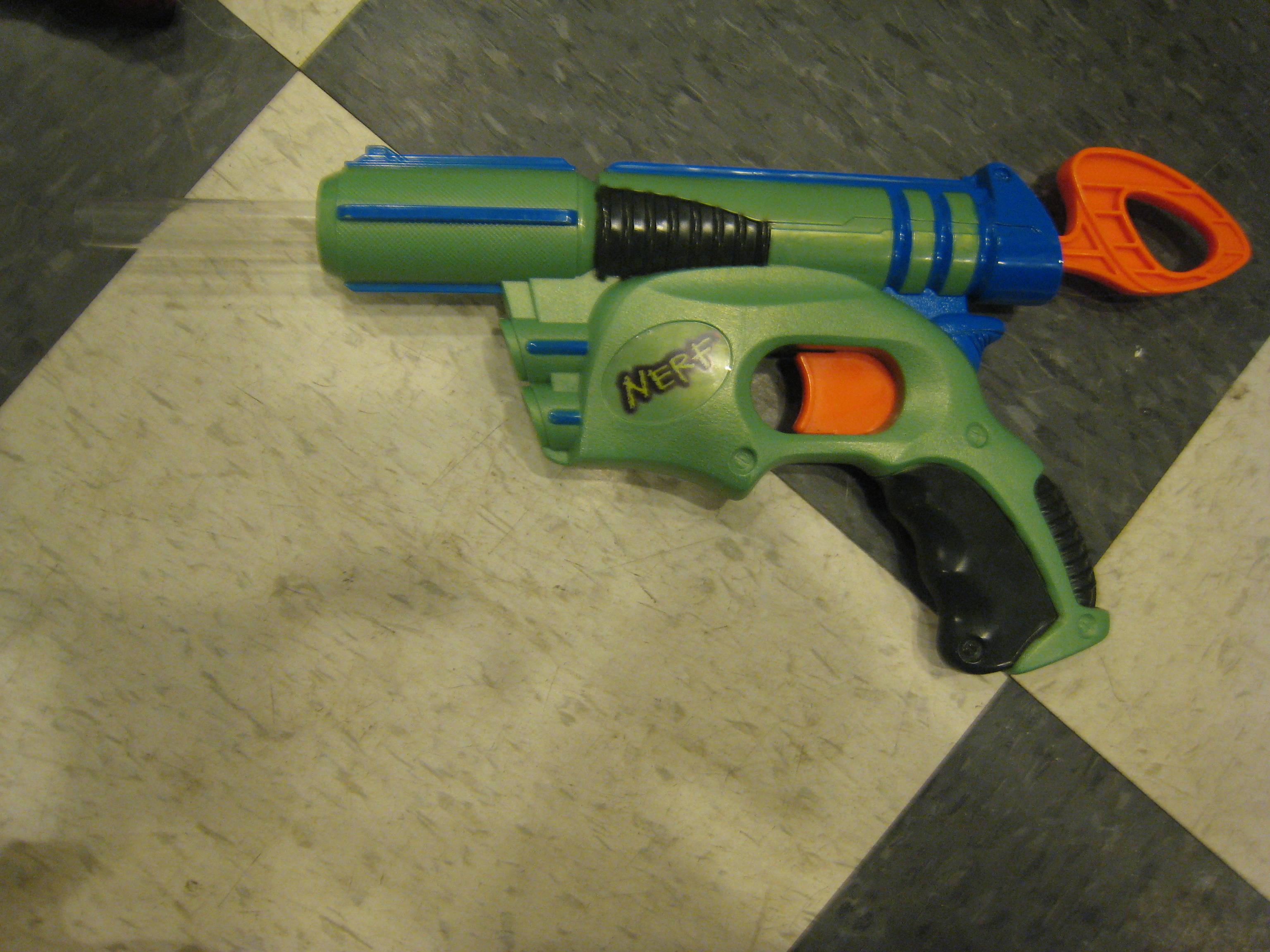 Picture of My modded nerf guns