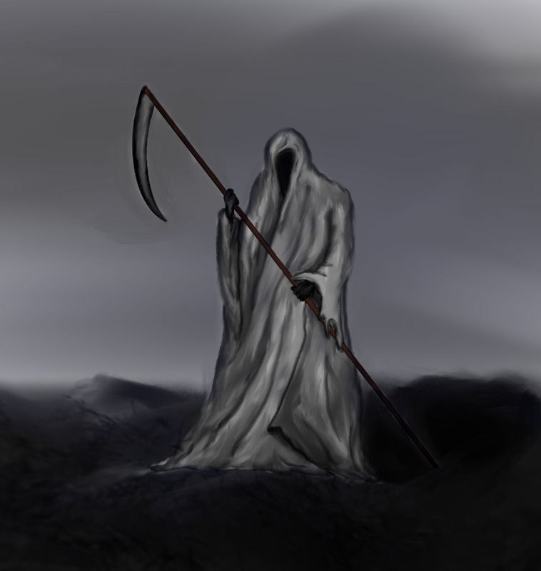Picture of How to Draw a Grim Reaper