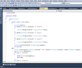 Make an Operating System in C#