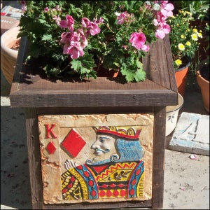 Make a Planter Fit for a King!