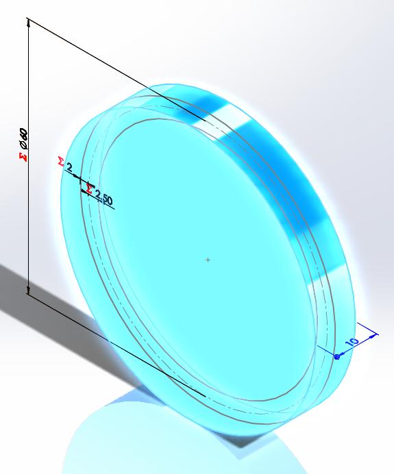 Picture of The Tip Diameter (Using the Addendum)