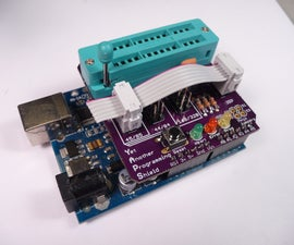 Arduino AVR Progamming Shield