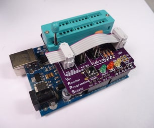 AVR Progamming Shield for Arduino