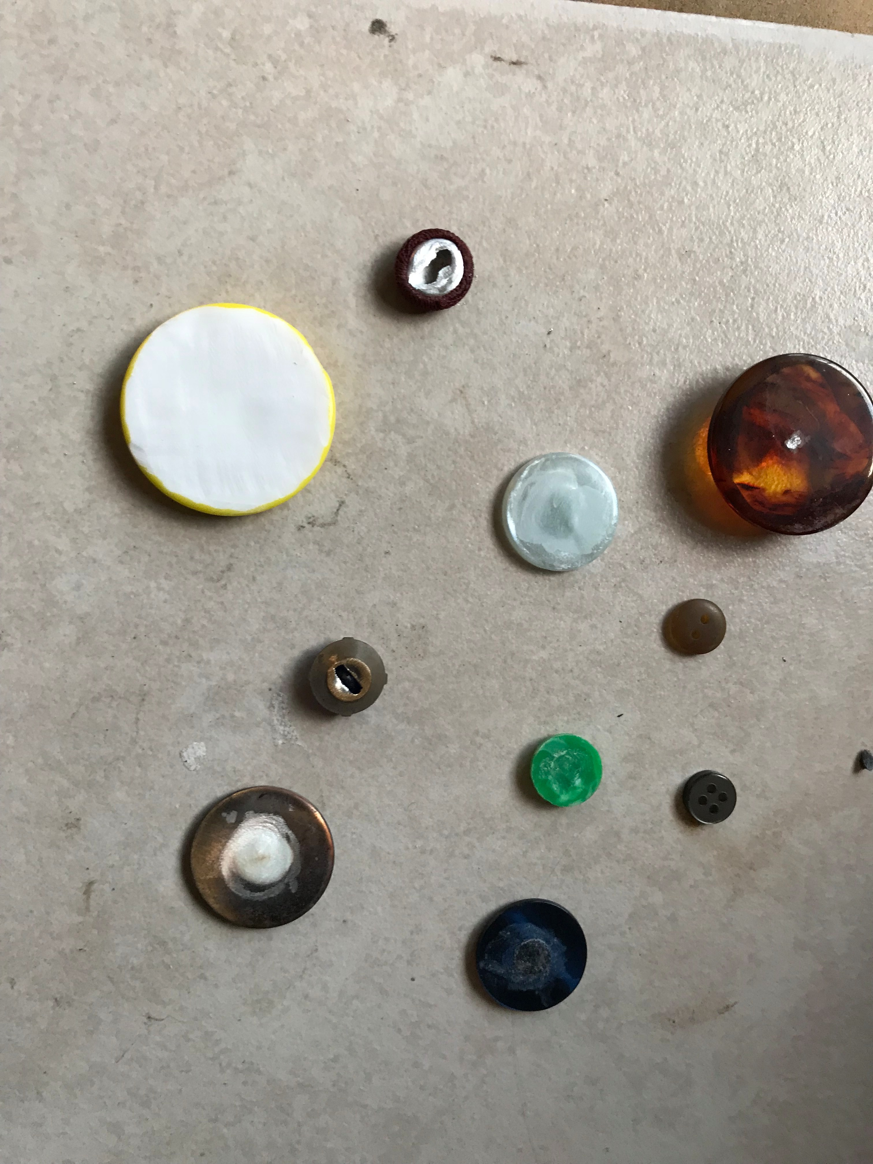 Picture of Picking Out Your Buttons and Getting Them Prepped