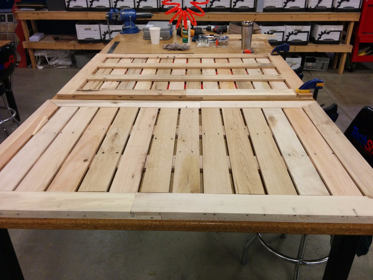 Picture of Creating the Table Tops