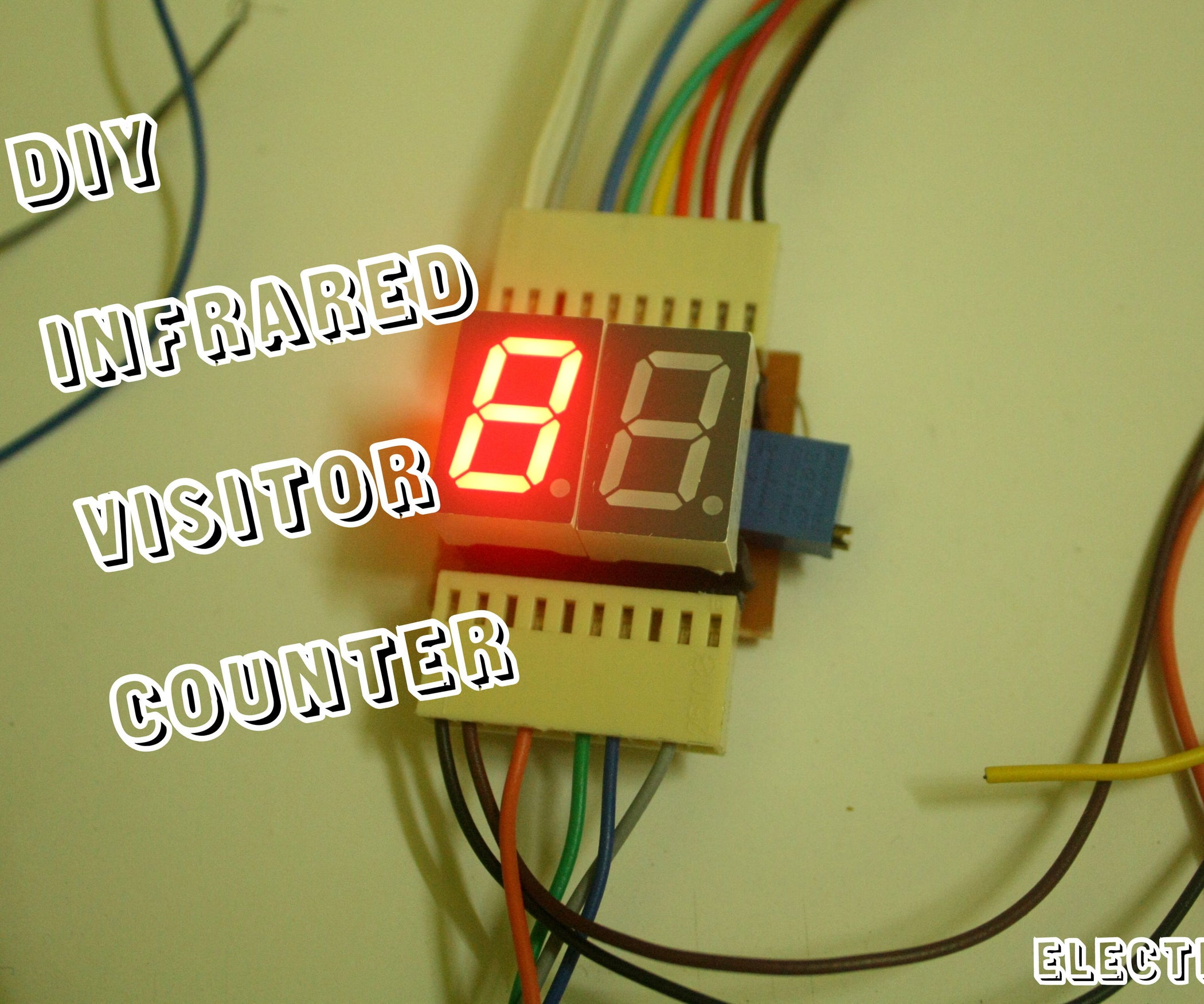 Arduino Diy Laser Ir Person Counter 4 Steps With Bi Directional Visitor Circuit Final Year Projects