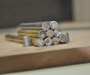 DIY Mosaic Pins for Knife Handles
