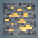 2'x2' Glowing Minecraft Ore Night Light