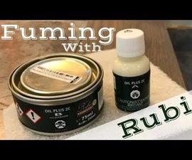 Fuming White Oak Treads With Rubio Monocoat