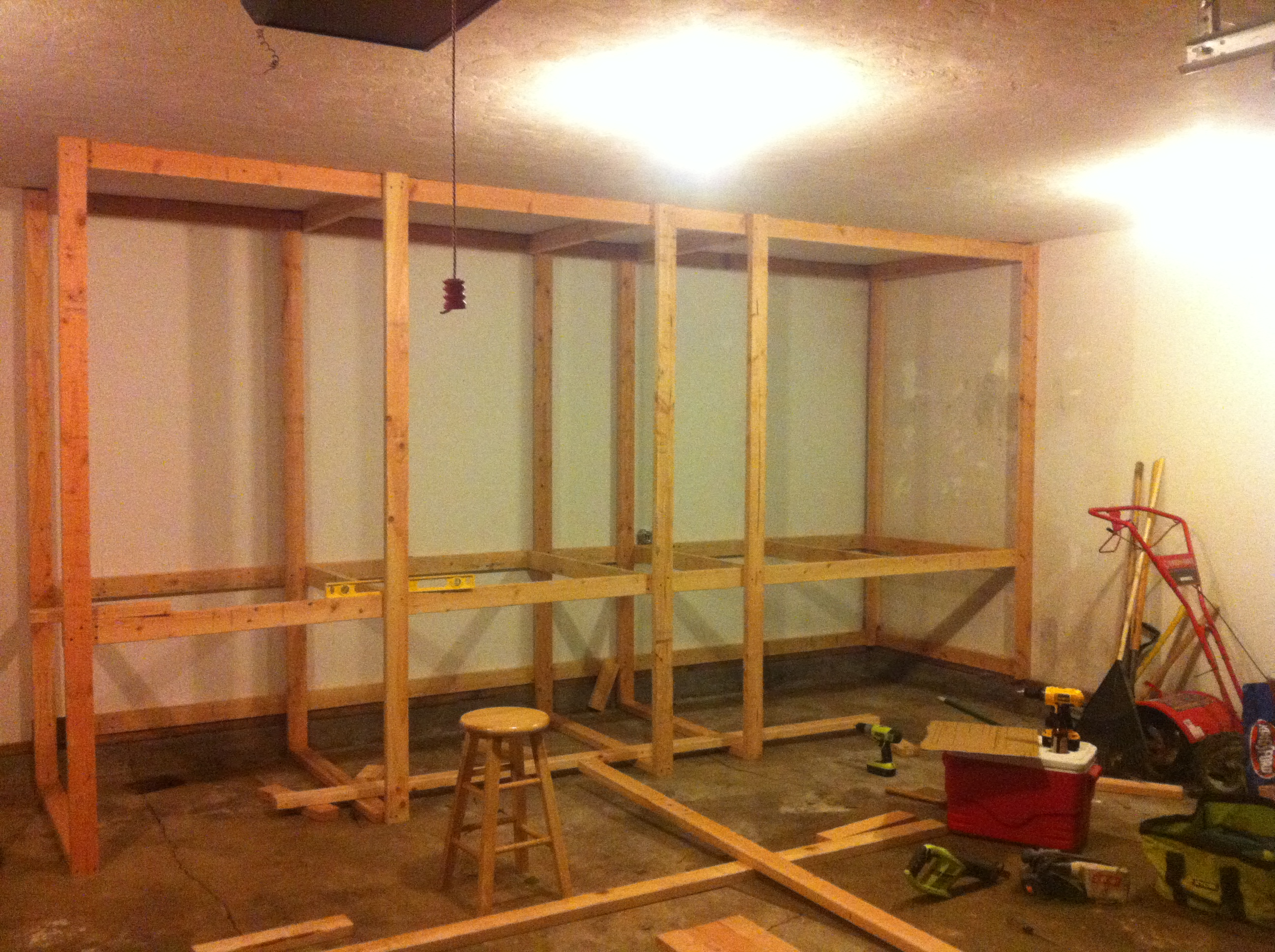 Picture of Building the Outer Frame.