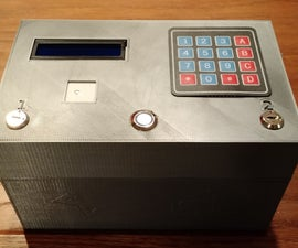 3D Printed Electronic Puzzle Box