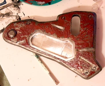 Finishing - Chipping Paint Details
