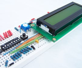 How to Drive a Character LCD Displays Using DIP Switches