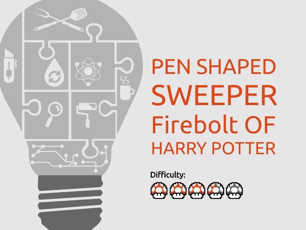 Picture of Pen Shaped Swepper Firebolt of HARRY POTTER
