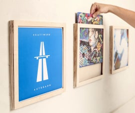 Vinyl Record Frames