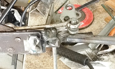 Picture of Drill for the Lower Handle Axle