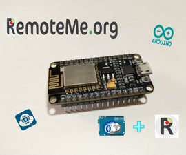 Home Automation Using RemoteMe & Arduino Remote LITE App.