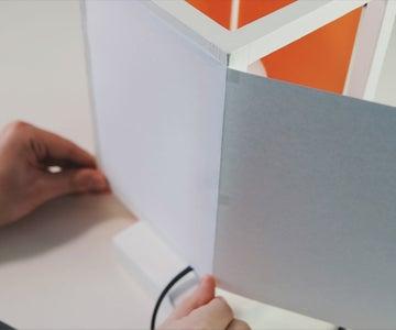 Gluing A4 Paper