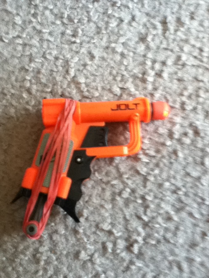 Picture of How to Hide a Nerf Jolt in Your Sleeve