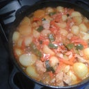 Potato-Chicken Stew