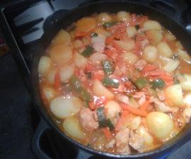 Potato-Chicken Stew