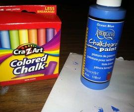 Chalkboard Nail Art!