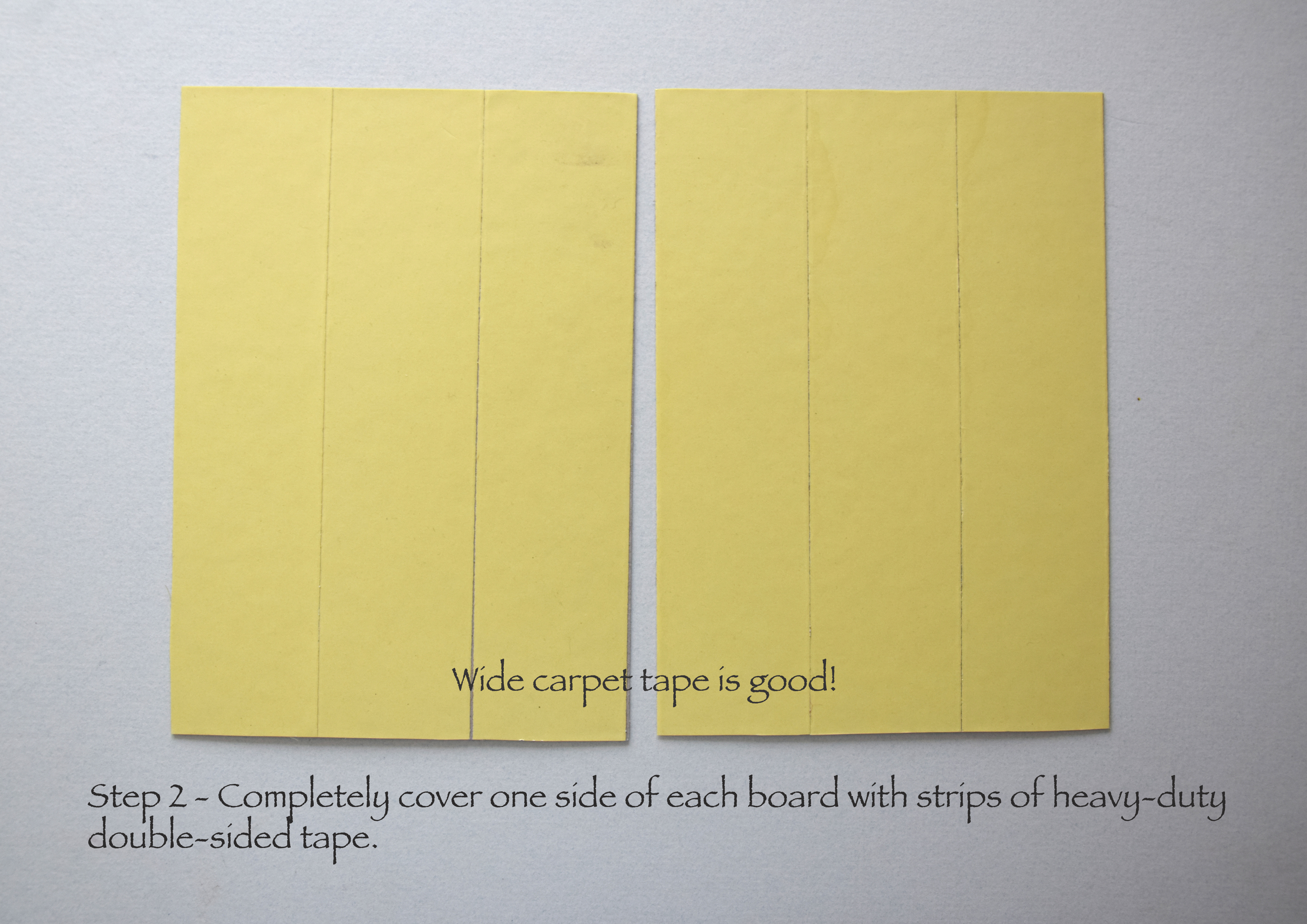 Picture of Cover With Double-sided Tape