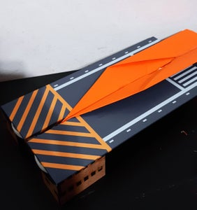 Paper Airplane Launcher (laser Cut)