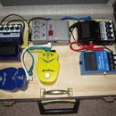 Guitar Pedal Board Suitcase with Storage