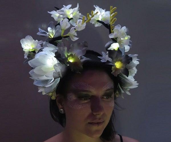 LED Flower Crown