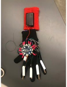 Attaching Everything Onto the Glove