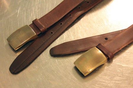 Details - Cloth and Leather Straps
