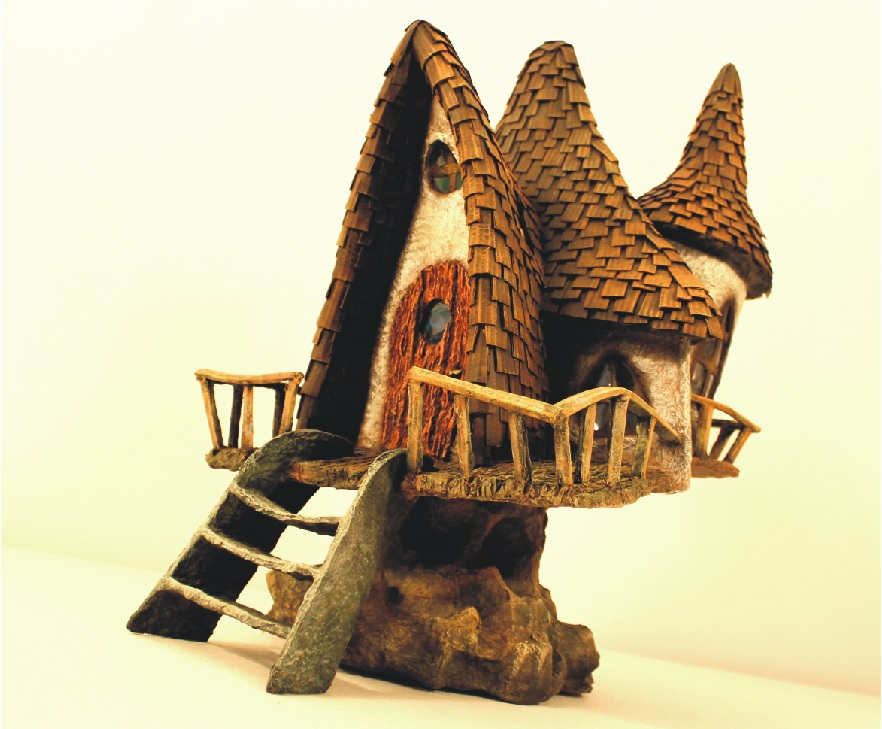 Picture of Fairy House Lamp Recycling Trash