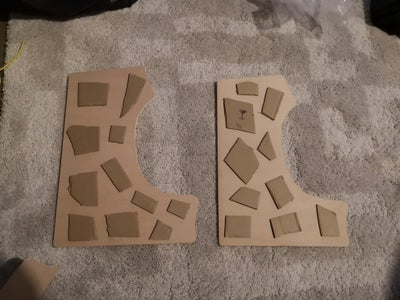 Gluing the Side Panels
