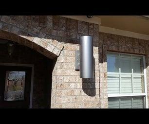 "DIY 6"" Outdoor PVC Light LED"