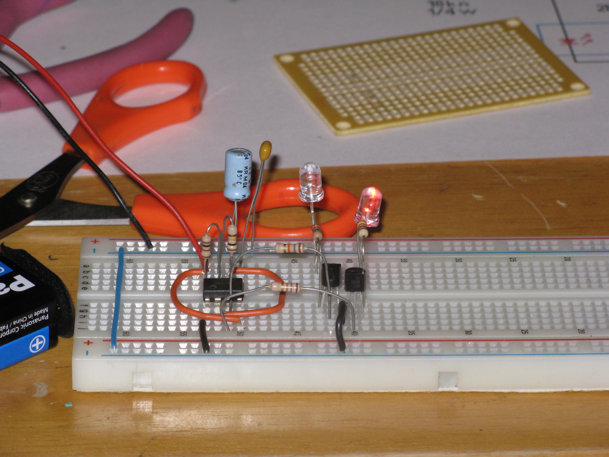Picture of Assembling and Testing the Circuit