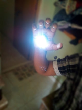 IRON MAN Themed Rechargeable Flashlight