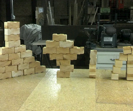 $3 building block set made from one 2x4