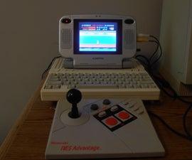 Project Advantage: Install a famiclone into a NES Advantage Joystick