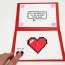 Zelda DIY Valentine's Card
