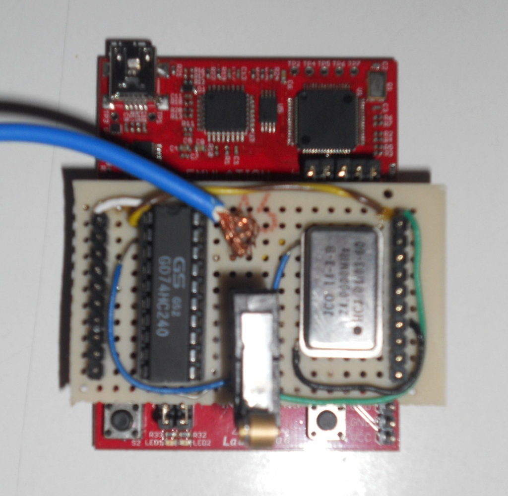 Picture of Hardware & Schematic
